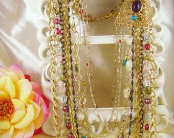 Multi-strand Statement Necklace