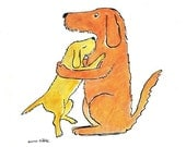 The Hug, Notecards (Pack of 6)
