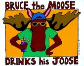 Bruce the Moose, Notecards (Pack of 6)