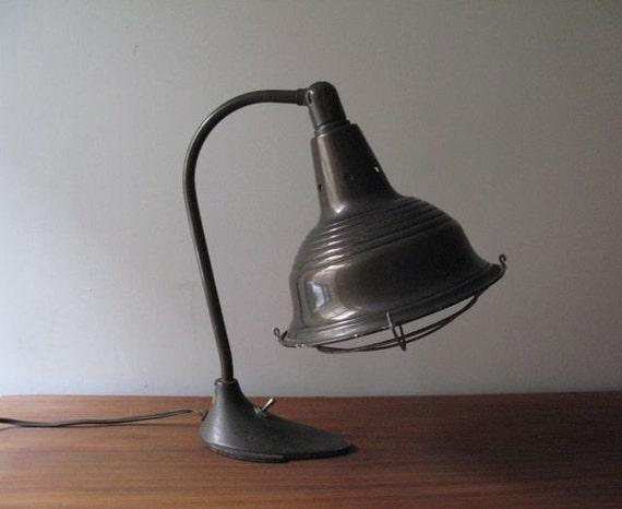 Vintage Industrial SWIVELIER Lamp
