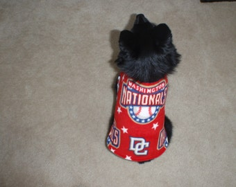 Washington Nationals Dog Coat