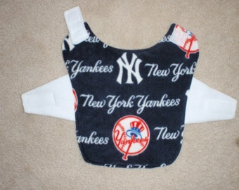 New York Yankees Fleece Dog Coat