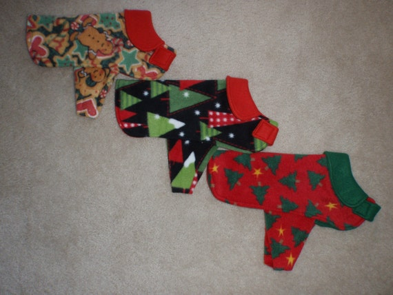 The Fleece Dog Coat Chirstmas Collection