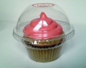 48 Crystal Clear Cupcake Favor Cups / Boxes / Holders / Containers