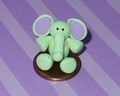 RESERVED - Elliot the Green Elephant