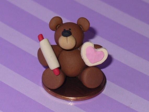 RESERVED-Baxter the Miniature Baker Bear