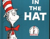 Vintage 1985 The Cat in the Hat  hardback Book by Dr. Seuss Like new