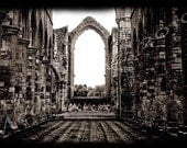 Memory's Nave: Fountains Abbey (Glossy, 5x7)