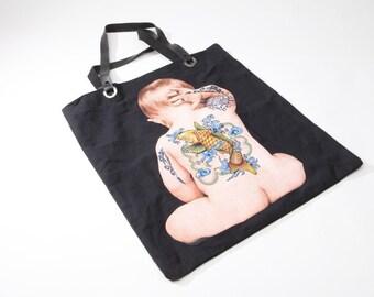 Koi FIsh Tattooed Baby Bag