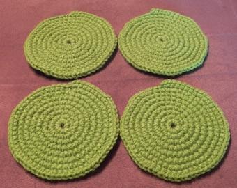 Lime Coasters - Set of 4