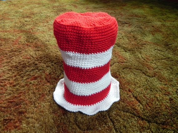 Cat in the Hat Inspired Hat