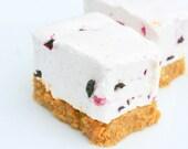 Free Shipper - NEW Breezie Blackberrie CheeseCake Gourmet Marshmallows -1/2 Dozen- Ready-To-Ship