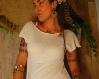 Sale  Organic hemp cotton topp/t-shirt