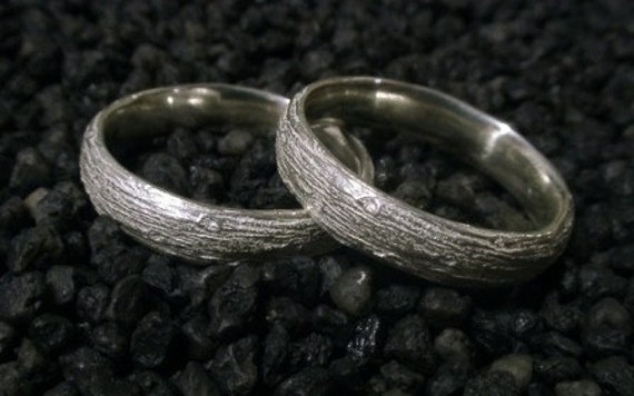Evergreen Wedding Bands, Model C