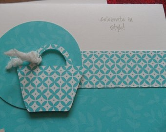 Purse Frenzy - set of 5 multi-occasion cards