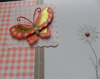 Butterfly duo - thank you & birthday cards