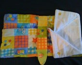 Bright Print Bunting Bed