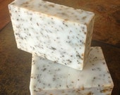 Spearmint Eucalyptus Soap Bar w/ Spearmint Leaves