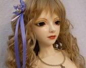doll clothing Romantic necklace, hairpiece and stockings set