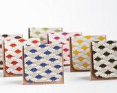 7pcs of Blank Mini Cards (Japanese Flower)