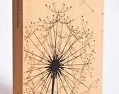 Mini Kraft Weekly Planner - Dandelion Print