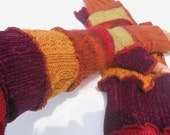 Recycled Sweater Arm Warmer Sleeves Fairy Gloves
