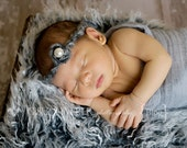 "Adorable Newborn Baby Girl Halo ""Cristine"" Perfect For Your Little Model"