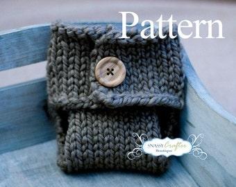 Knitted Diaper Cover Pattern, Newborn Diaper Cover, Knitted Newborn Diaper Cover, Newborn Pattern, Knitted Tush Wrap, Knit Diaper Cover