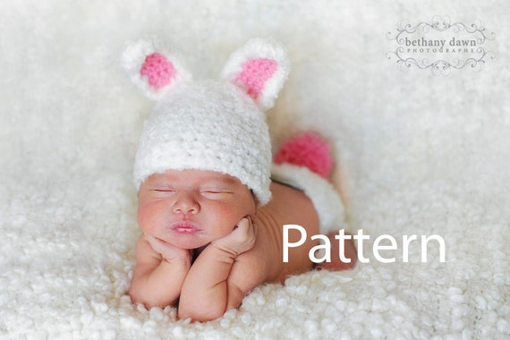 Unavailable listing on etsy for Easter bunny hat template