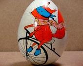 Handpainted Wooden Easter Egg