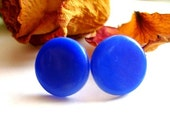Blue Stud Earrings - bloomyjewelry