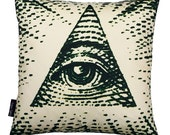 Eye Of Providence pillowcase (no insert)