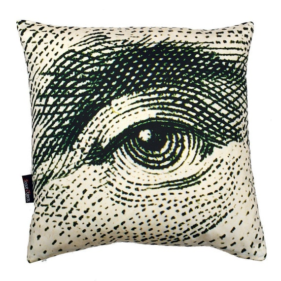George Washington Eye pillowcase (no insert)