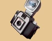 color photograph of vintage camera (Delta)