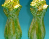 Avon Celery Stalk Salt and Pepper Shakers.