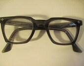 Vintage Geek Eyeglasses With Cross at Edge