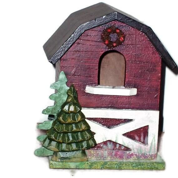 my big red barn birdhouse indoor home decor rustic lanai. Black Bedroom Furniture Sets. Home Design Ideas