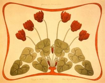 Art Nouveau Designs I - Cross stitch pattern pdf format