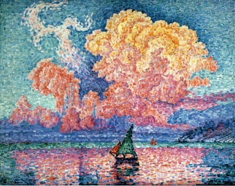 Pink Cloud - Cross stitch pattern pdf format