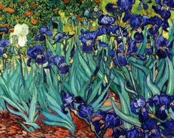 Irises - Cross stitch pattern pdf format