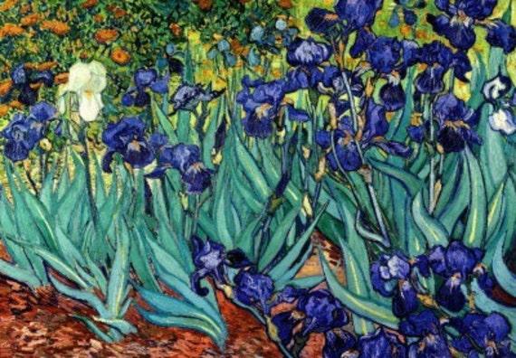 Irises - Cross stitch pattern pdf format