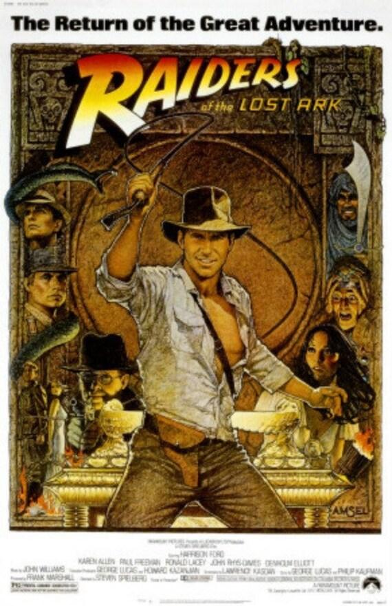 Raiders of the Lost Ark - Cross stitch pattern pdf format