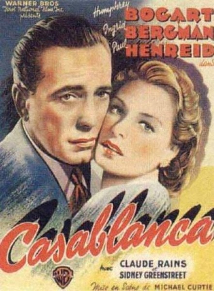 Casablanca Movie Poster Cross stitch pattern pdf format