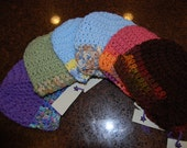 Crotchet Baby Hats for boy or girl