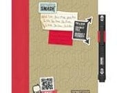 Doodle Red Folio SMASH Journal Book by K and Co.