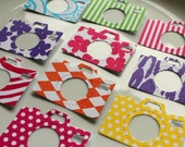 10 Camera Die Cuts Patterned Cardstock from Canvas Corp