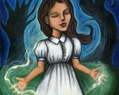 Veni Sancte Spiritus-8x10 Art Print with white border
