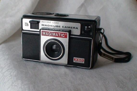 Vintage Magimatic X50 Magicube Camera-- Calling All Camera Collectors