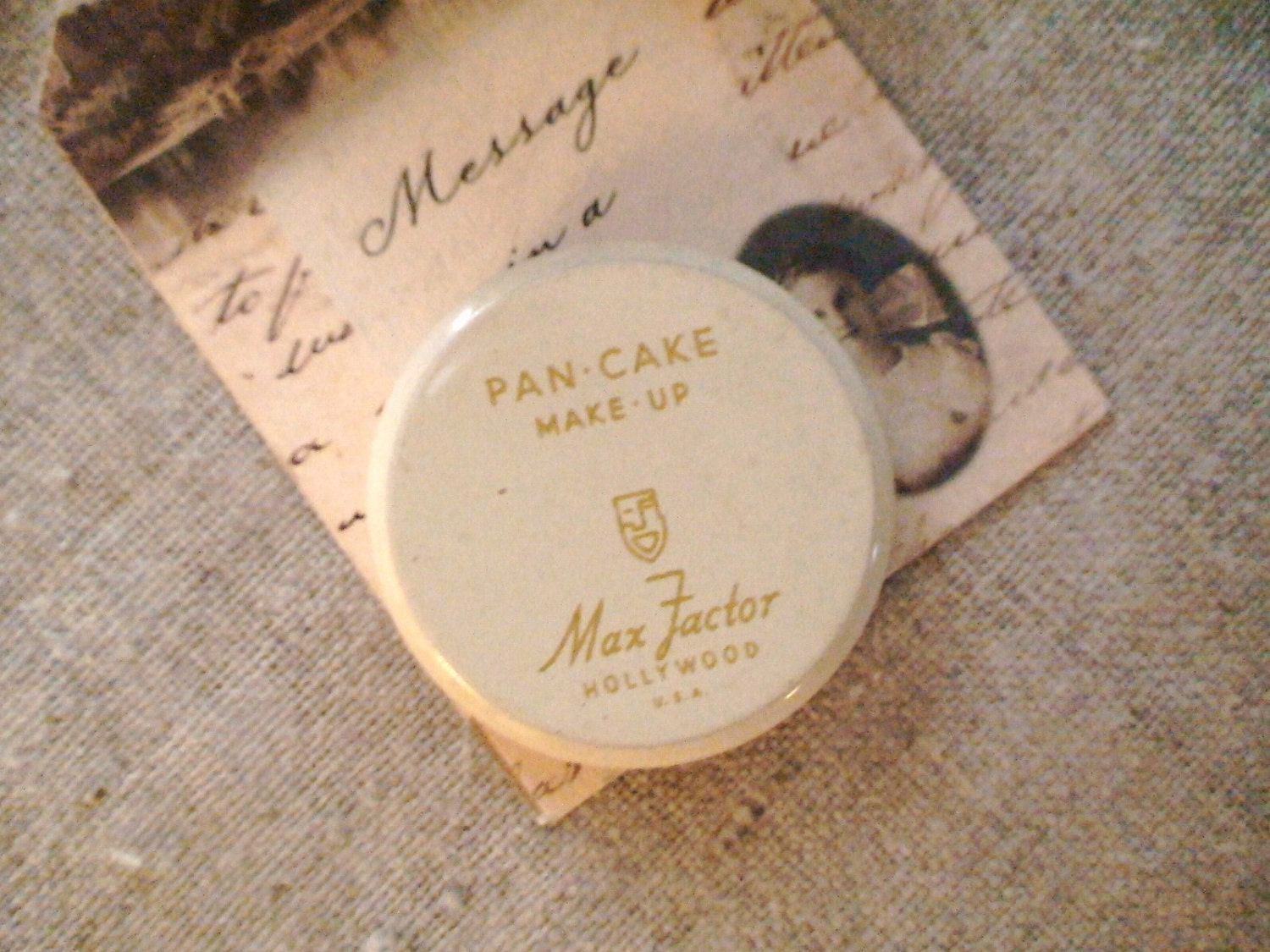 Vintage Max Factor Pan-cake Makeup