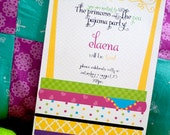 Princess and the Pea - Invitation - Printable